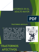 Trastornos en El Adulto Mayor
