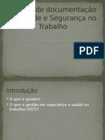 Slides de Gestão de Documentação