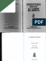 Libro de horas - Rilke
