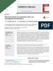 Nutrición Enteral en El Paciente Crítico Con Inestabilidad Hemodinámica