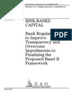GAO Risk Based Capital