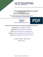 Culture Psychology-2014-Valsiner-3-30 - Needed for Cultural Psychology- METHODOLOGY in a New Key