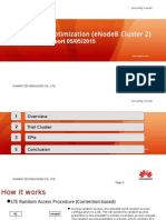 LTE PRACH Optimization(ENodeB Cluster 2) Final Report 05052015