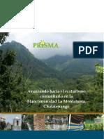 Avanzando Hacia El Ecoturismo Comunitario en La Montaniona