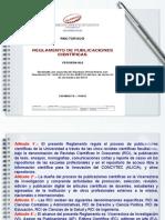 Reglamento Publicaciones Cientificas v02 Elva