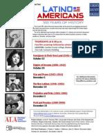 Latino American HistoryFilm Screenings 9-24-15