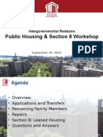 Public Housing & Section 8 Powerpoint 9.28
