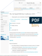 The 3rd OpenFOAM User Conference 2015 _ ESI Group - Virtual Prototyping Softwar
