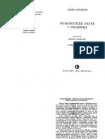 Goldman - Humanisticke Nauke i Filozofija