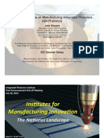 American Institute for Manufacturing Integrated Photonics