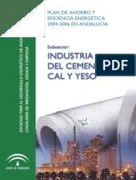 Esposito - Plan de Ahorro y Eficiencia Energetica Industria Del Cemento Cal y Yeso