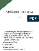 SIMULADO revisão para av1