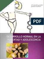 7.-Desarrollo en La Pubertad y Adolescencia