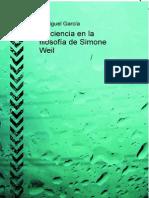 García, Juan Miguel - La ciencia en la filosofía de Simone Weil.PDF