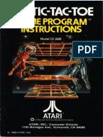 Atari 2600 3 D Tic Tac Toe