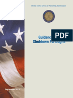 Guidance for Shutdown Furloughs September 2015