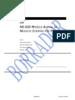 RD-020 Modelo Actual Del Negocio - AP
