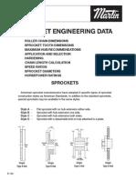 Sprocket Engineering Data