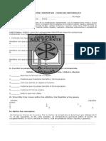 Evaluación Formativa Ciencias Capitulo 5