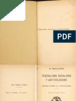 Bakunin, Mijaíl - Federalismo, socialismo y antiteologismo [escaneado].pdf