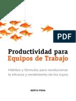 Productividad en equipos