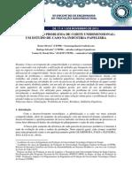 Otimização Do Problema de Corte Unidimensional - Um Estudo de Caso Na Indústria Papeleira