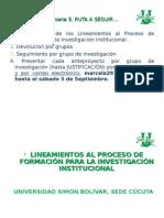 4. Lineamientos Investigación Formativa Usb