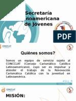 Secretaria Latinoamericana de Jovenes 2015.Presentation Plan Latinoamericano