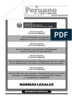 Decreto Supremo 018 2015 MINAGRI