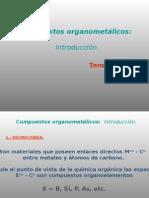 Química Inorganica, Compuestos organometalicos