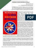 La Novela de La Dictadura_ Nuevas Estructuras Narrativas - Martha Paley Francescato