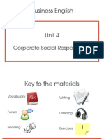 Unit 4 - Corporate Social Responsibility