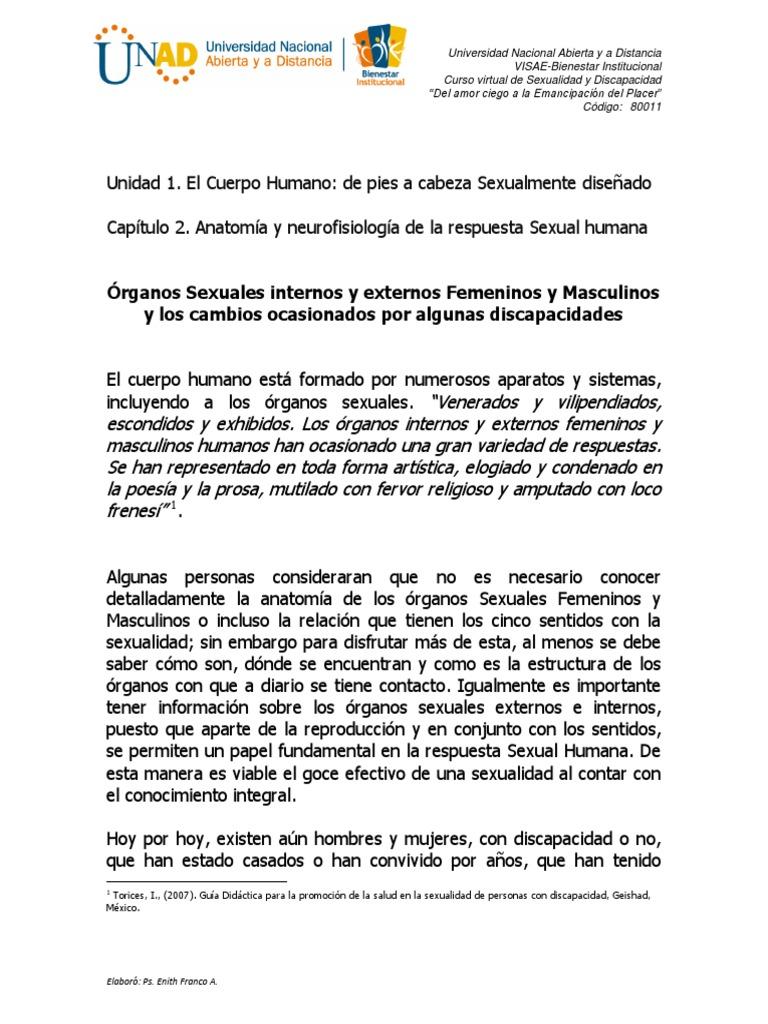 Lectura 1. Organos Sexuales Pelvicos Internos y Externos Femeninos y ...
