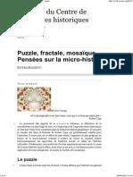 Puzzle, Fractale, Mosaïque
