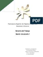 Derecho del Trabajo - Sesión de estudio 1 Recopilación