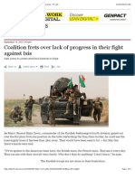 FT Coalition Frets Over Lack of Progress in Their Fight Against Isis - FT.com
