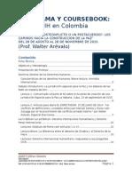 Programa y Coursebook Diplomado Dih y Ddhh Conflicto Walter Arevalo
