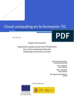Cloud en La Educacion