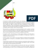 Simbolos Municipio Sucre