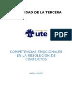 Competencias Emocionales y Resolucion de Conflictos Interpersonales