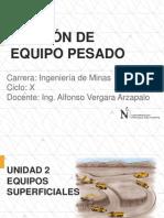 Gestión de Equipo Pesado_Unidad II - 1