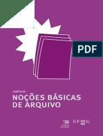 Cartilha Nocoes Basicas de Arquivo