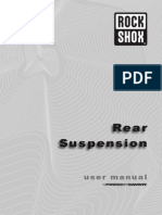Rock Shox Rear Suspension Tuning Manual