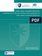 Antibiotics for Early-Onset Neonatal Infection