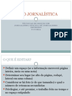 Técnicas de Edição Jornalstica