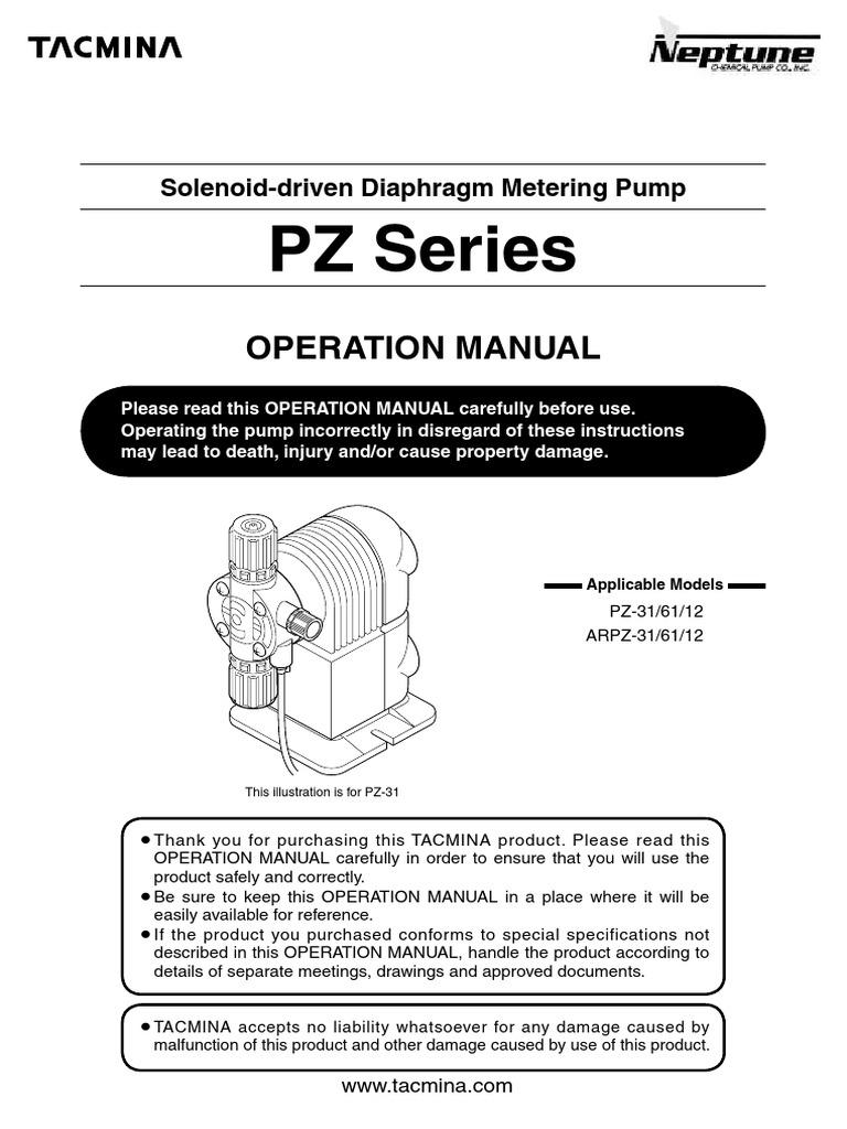 Manual bombas pump valve ccuart Images