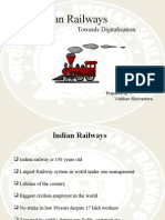 Indian Railways Digitalisation