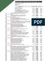 Analisis de Linea Base - Arquitectura.xlsx