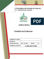 Portafolio de Evidencia Química Básica (MAI)