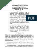 Proyecto Integral Casa Ecologia 2